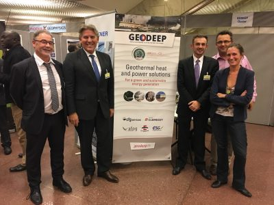 French geothermal cluster GEODEEP appoints Director for export