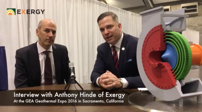 Interview on recent development for Exergy in Turkey and elsewhere
