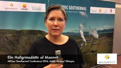 Short video introduction on the GRMF by Elin Hallgrimsdottir of Mannvit