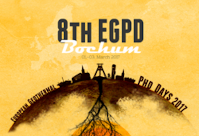 European Geothermal PhD Days 2017 – Abstract deadline 15 Jan. 2017