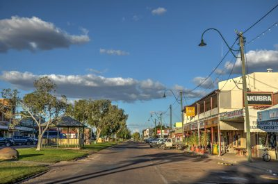 Winton in Queensland, Australia awaiting arrival of geothermal plant