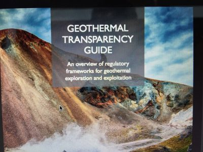 New guide providing extensive overview on geothermal legislation worldwide
