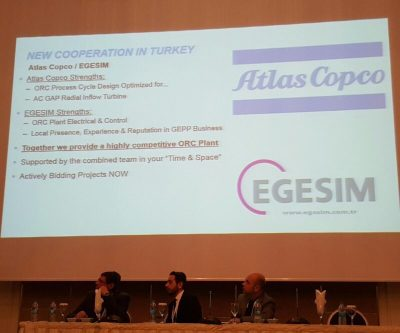 Egesim and Atlas Copco partnership to offer joint geothermal power plant solution