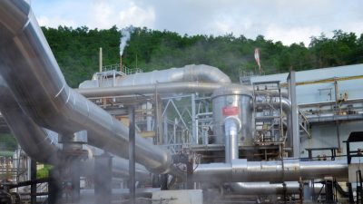 Geothermal energy with enormous potential in Guadeloupe, Caribbean