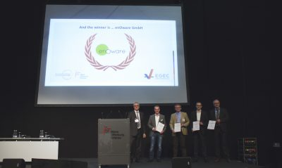 European Geothermal Innovation Award 2017 for sensor supplier to heat pump industry