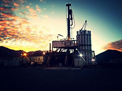 Drilling geothermal wells at 4,600 meters above sea level, Petreven in Chile