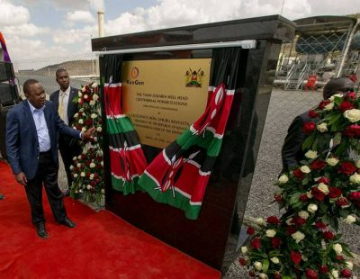 Kenya driving development with GEG geothermal wellhead plants