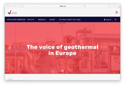 European Geothermal Energy Council launches new logo and website