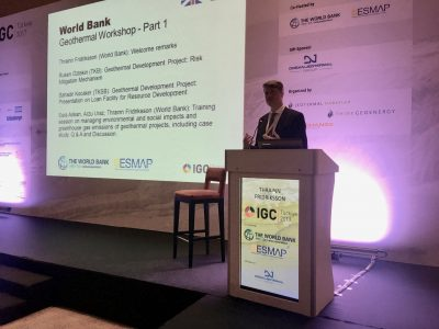 World Bank: private investment & tariffs key to geothermal growth in Turkey