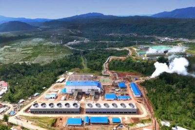 Enel Green Power reports on its 55 MW Way Ratai geothermal project in Indonesia