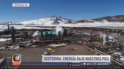 A great video on the utilisation of geothermal energy in Chile (in Spanish)