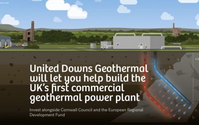 Crowdfunding campaign for UK geothermal project getting off great start