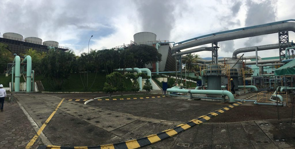Increasing geothermal power generation in El Salvador is a priority