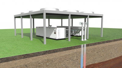 New financing company to accelerate business for small-scale geothermal units