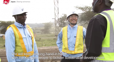 Video: Japan's contribution to geothermal development in Kenya