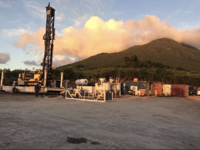 Confirmation drilling started for geothermal project on Nevis, Caribbean