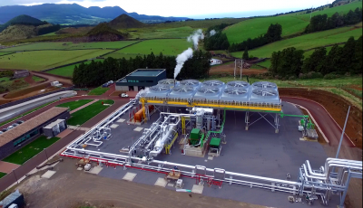New 4 MW geothermal power plant on the Azores inaugurated today