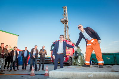 Drilling started for the Trias geothermal greenhouse project in the Netherlands