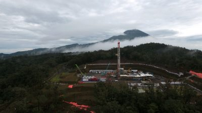 Exploration drilling has started on 220 MW Baturaden geothermal project in Central Java