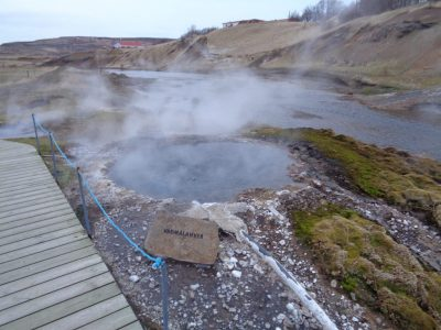 Generating electricity from geothermal hot springs in Iceland getting closer