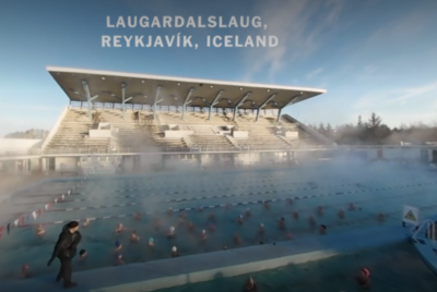 NYT video highlighting the centrol role of geothermal pools in Iceland's culture