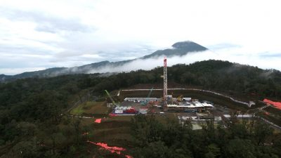 Drilling to start of 2nd well for Baturraden/ Gunung Slamet geothermal project