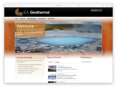 With Mexico another geothermal country joins the International Energy Agency