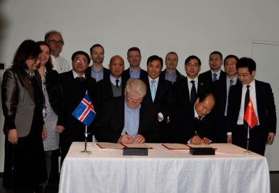 Iceland GeoSurvey and China Geological Survey to cooperate on geothermal research and training