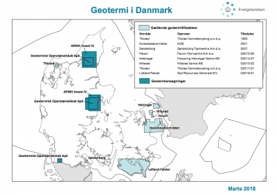 Recent tender for geothermal licenses in Denmark sees increased interest by developers