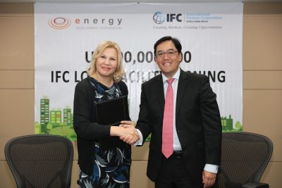IFC extends $90 million loan to Energy Development Corp. in the Philippines