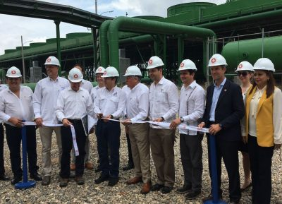 35 MW geothermal plant by Ormat in Honduras officially inaugurated