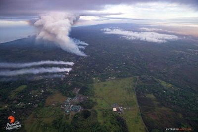 With nearby volcanic activity, Puna geothermal plant secured, Hawaii