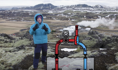 Video: Exploring the use of geothermal energy in Iceland – BBC Earth Lab