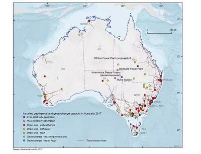 Census of Australian Geothermal Projects – Australian Geothermal Association seeking input