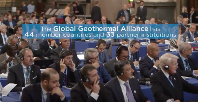 Global Geothermal Alliance meeting at 10th IRENA General Assembly
