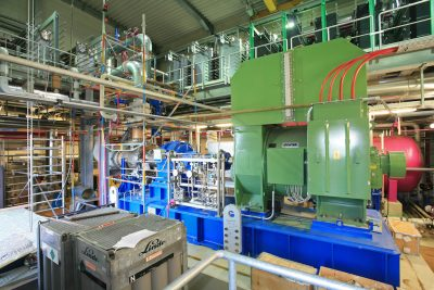 Equipment of Kalina geothermal power plant of Unterhaching to be sold