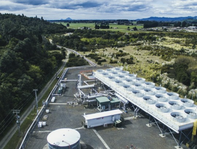 Construction of 25 MW Te Ahi o Maui geothermal plant in New Zealand nearly completed