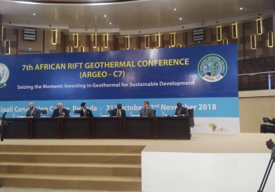 7th African Rift Geothermal Conference (ARGeo) opened in Kigali, Rwanda