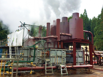 Flow tests being conducted at new geothermal project in Akita, Japan