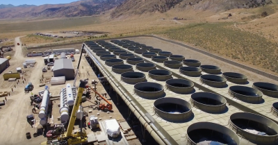 Solar PV and geothermal in interesting hybrid plant set-up by Ormat in Nevada