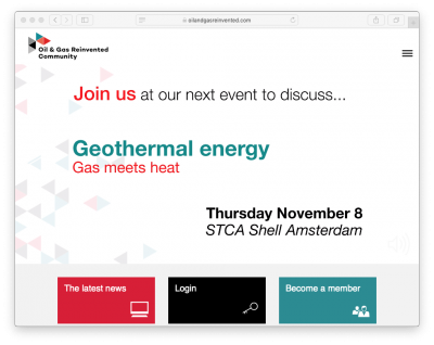 System Integration: Gas meets Geothermal, Amsterdam/ Netherlands 8 Nov. 2018