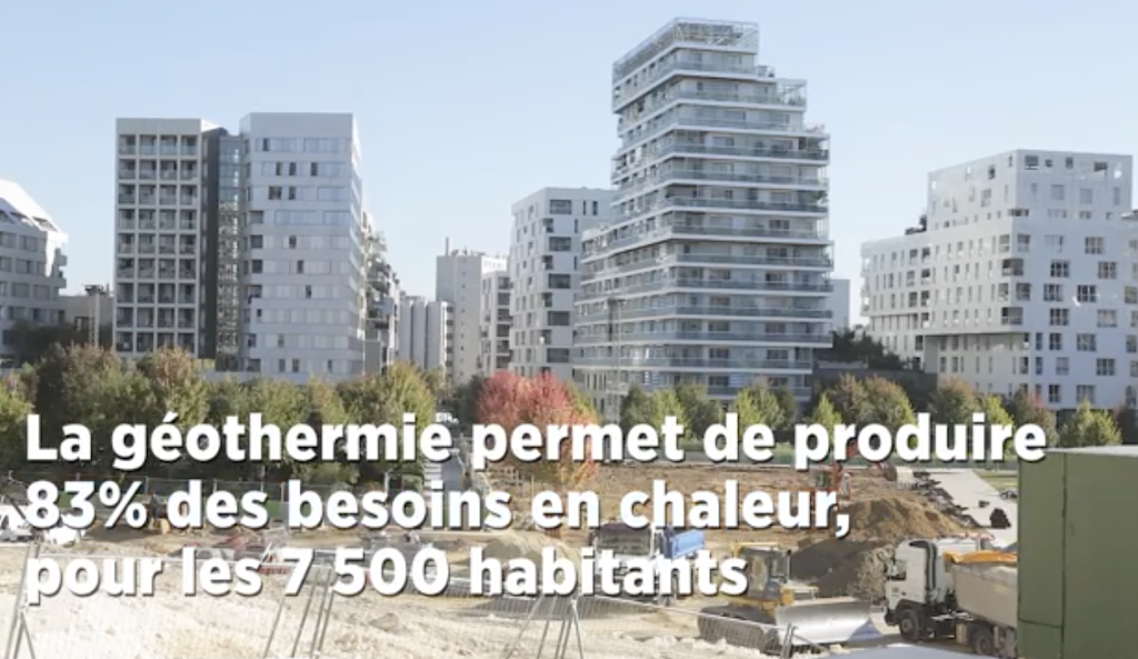 new eco district in paris france to be heated by geothermal