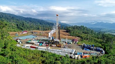 De-risking geothermal projects, Indonesian government drilling in three geothermal areas