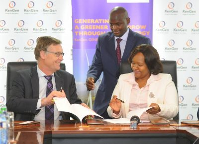 KenGen and University of Twente to collaborate on geothermal capacity building