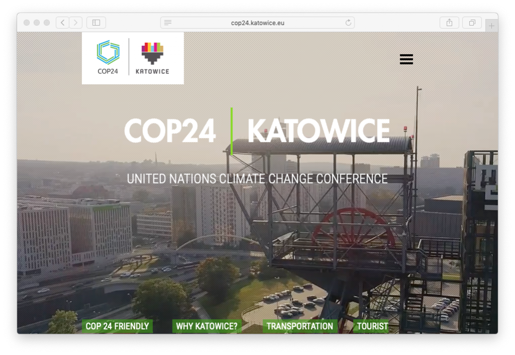 Weekend, Climate change negotiators gather in Poland
