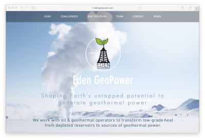 Internship positions at Eden GeoPower – geothermal technology startup
