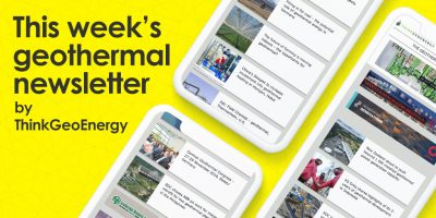 Don't miss what's going on in the geothermal world with our weekly newsletter