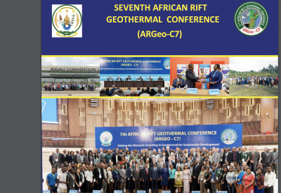 Report released on 7th ARGeo Conference held in Kigali, Rwanda, Nov. 2018