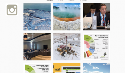 Follow ThinkGeoEnergy on Instagram for geothermal imagery