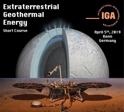 IGA – Extraterrestrial Geothermal Workshop, Bonn/ Germany – 5 April 2019